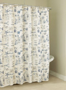 By the Sea Shower Curtain from Lorraine Home Fashions