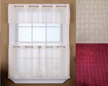 Sidney Sheer Grommet Top curtain