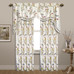 Jewel Embroidered Rod Pocket Curtains & Valance - White from United Curtain
