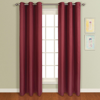 Mansfield Grommet Top Curtain Panel - Spice