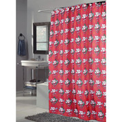 Santa Claus Christmas Shower Curtain