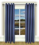 Ultimate Blackout Grommet Top Curtains blue
