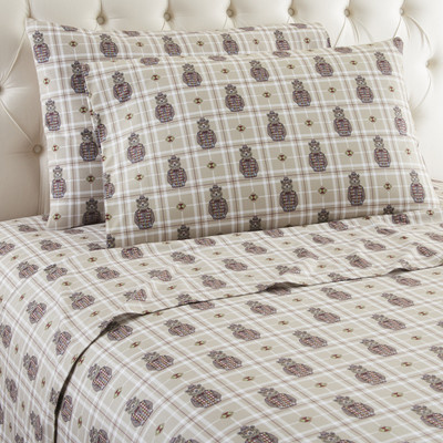 Micro Flannel Sheet Set from Shavel - Grizzly.B.Cool