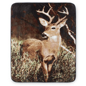Deer Country Blanket Throw from Shavel