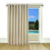 New Castle Lined Grommet Top Patio Panel - Natural