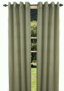 Bal Harbour Semi-Sheer Grommet Top Curtain Panel - Sage from Ricardo