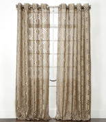 Argos Grommet Top Curtain Panel - Brass from Belle Maison
