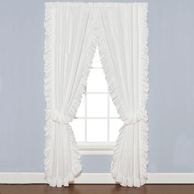 Sarah Ruffled Priscilla Curtain