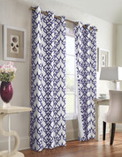 Allegra Thermologic Grommet Top Curtain pair - Navy from Commonwealth