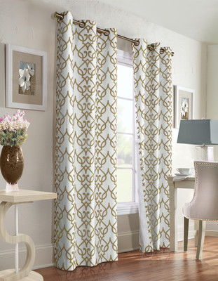 Allegra Thermologic Grommet Top Curtain pair - Khaki from Commonwealth