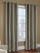 Belgard Grommet Top Curtain Panel - Taupe from Commonwealth