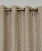 Highgate Grommet Top Curtain Panel - Beige from Commonwealth