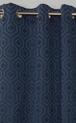 Highgate Grommet Top Curtain Panel - Navy