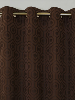 Highgate Grommet Top Curtain Panel - Brown from Commonwealth
