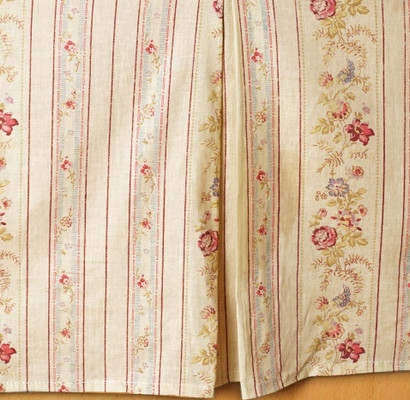 Antique Rose Bedskirt from Greenland