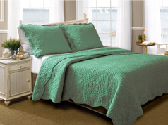 La Jolla Jade Quilt Set from Greenland