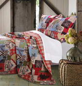 Rustic Lodge Quilt Set from Greenland