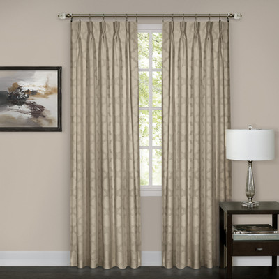 Windsor Pinch Pleated Drape PAIR - Camel