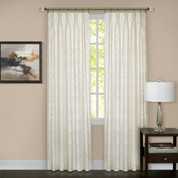 Windsor Pinch Pleated Drape PAIR - Ivory