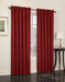 Althea Blackout Rod Pocket Curtains - brick from Lichtenberg Sun Zero