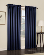 Althea Blackout Rod Pocket Curtains - NavyBlue from Lichtenberg Sun Zero