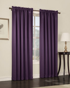 Althea Blackout Rod Pocket Curtains - Plum from Lichtenberg Sun Zero