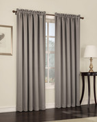 Althea Blackout Rod Pocket Curtains - Stone from Lichtenberg Sun Zero