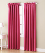 Althea Blackout Rod Pocket Curtains - Pink from Lichtenberg Sun Zero
