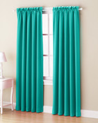 Althea Blackout Rod Pocket Curtains - Sky from Lichtenberg Sun Zero