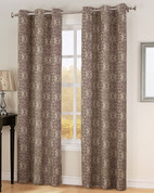 Carrigan Lined Thermal Grommet Top Curtain - Wine from Lichtenberg Sun Zero