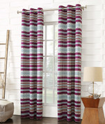 Lief Room Darkening Grommet Top Curtain - Magenta from Lichtenberg Sun Zero