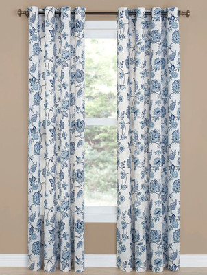 Collette Grommet Top Curtain - Denim