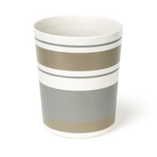 Colorware Stripe Wastebasket from Saturday Knight