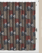 Borneo Shower Curtain from Creative Bath