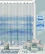 Splash Relax Shower Curtain and Bathroom Accessories from Creative Bath