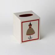 Fashion Passion Tissue Box Cover from Saturday Knight