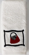 Fashion Passion Fingertip Towel from Saturday Knight
