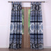 Medina tab top curtain pair Indigo