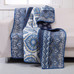 Medina throw blanket Indigo