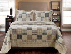 Oxford Quilt Set - Full/Queen from Greenland
