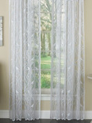 Songbird lace curtains in White