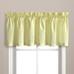 Dorothy Swiss Dot Kitchen Curtain valance - Yellow