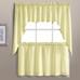 Dorothy Swiss Dot Kitchen Curtain - Yellow