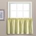 Dorothy Swiss Dot Kitchen Curtain tier - Yellow