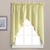 Dorothy Swiss Dot Kitchen Curtain swag - Yellow