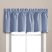 Dorothy Swiss Dot Kitchen Curtain valance - Blue