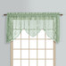 Windsor Lace Swagger Valance - Sage Green from United Curtain