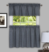 Sydney Grey Kitchen Curtain from Achim