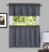 Sydney Grey Kitchen Curtain from Achim