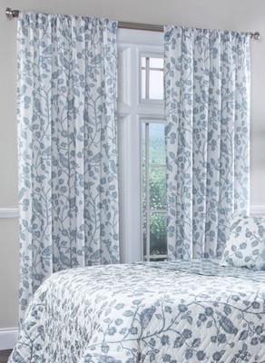 Botanica Rod Pocket Curtain Panel - Mist